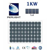 KW Perlight PV Photovoltaic Solar Panel Complete Kit